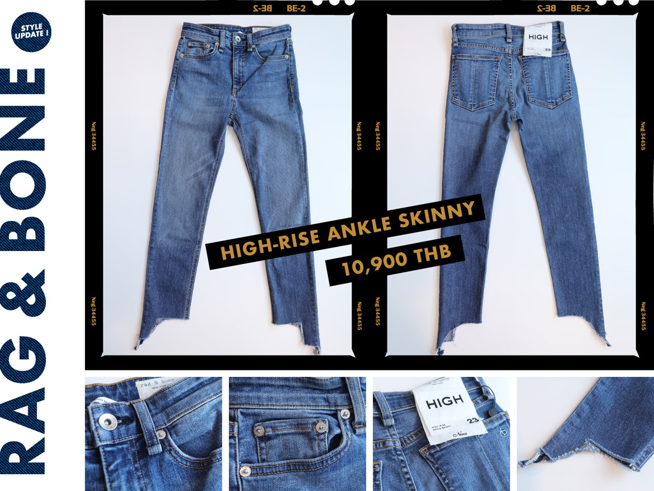 170af519 From high-rise jeans, we move on to mid-rise jeans. These look like the  most basic pair of denim jeans that Rag & Bone has to offer, with the  typical ...